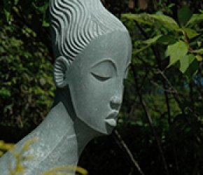 ZimSculpt at the Dallas Arboretum