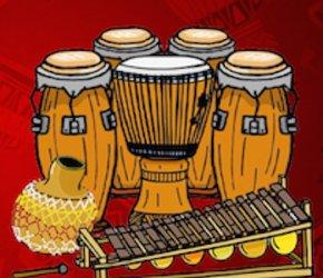 African Drumming Workshops with Jordan Hanson