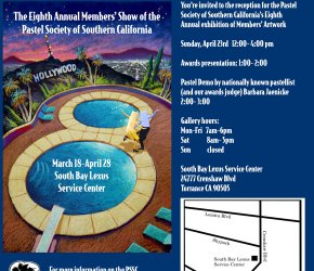 Pastel Society of Southern California 8th Annual Members' Exhibition