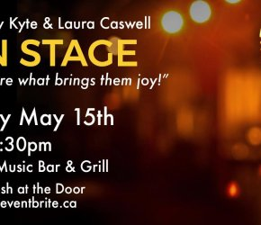 OPEN STAGE HALIFAX May 15th - at the Carleton 'Take the STAGE'