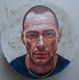 mario-loprete-fabri-fibra-oil-on-concrete-diameter-25-cm