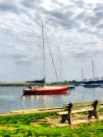 Southport Harbor in Spring