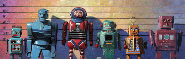 Eric Joyner's Stellar Robot Art
