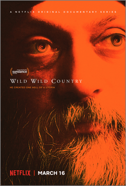 Netflix Poster for TV Series Wild Wild Country.