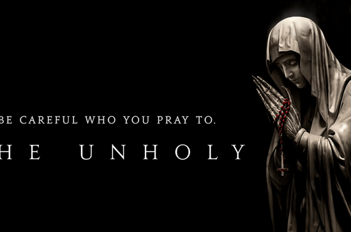 Film Poster of The Unholy (2021).