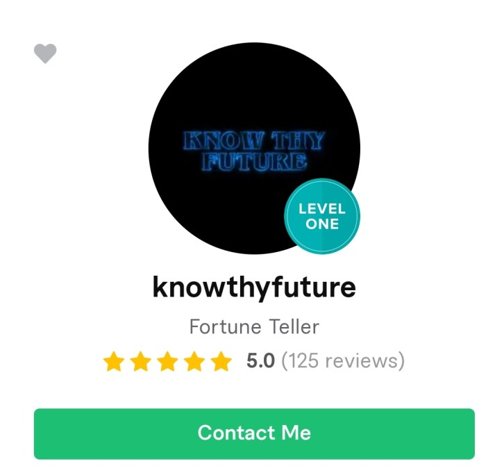 Know Thy Future Level One.