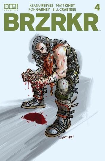 BRZRKR Issue #4 (Kobo Cover)