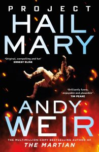 Book Cover of Project Hall Mary (2021) written by Andy Weir.