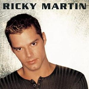 Album cover of Ricky Martin's 1999 record.