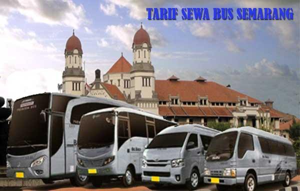 tarif sewa bus semarang