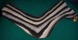 Sideways Sock in progress
