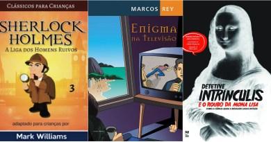 13 livros de suspense e mistério para crianças
