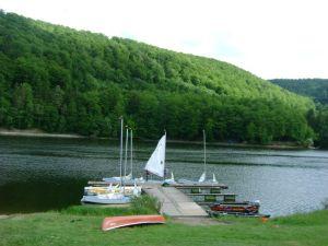 Bootsanleger der Uni Marburg