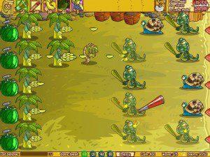 Spielbild aus dem Game Fruit Defense Express