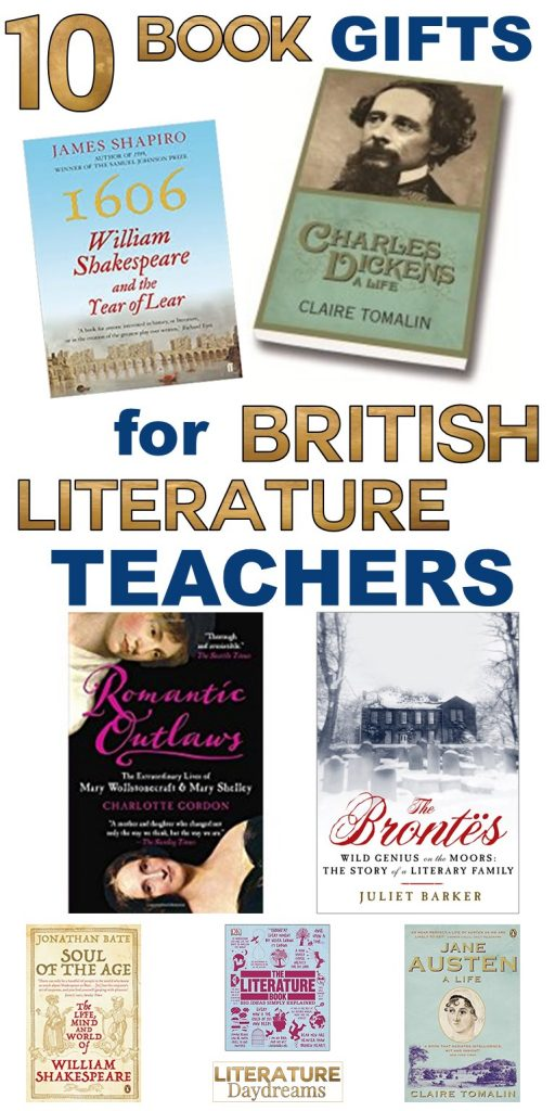 10 book gifts for British Literature Loving Teachers