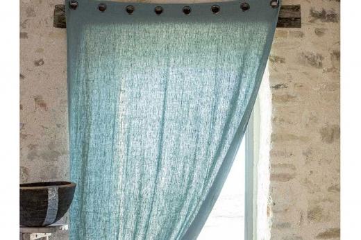 rideaux lin lave propriano