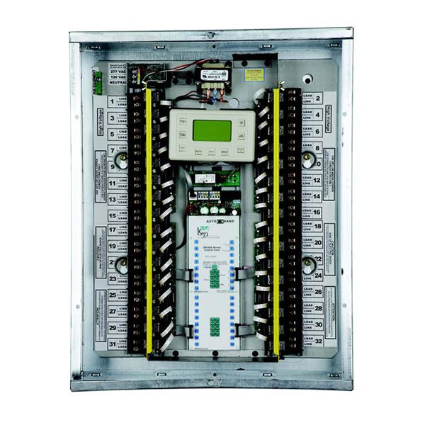 gr2432 32 relay master lc d lighting control panel