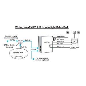 NCM PC RJB– nLIGHT DAYLIGHT SENSOR PRIMARY & SECONDARY