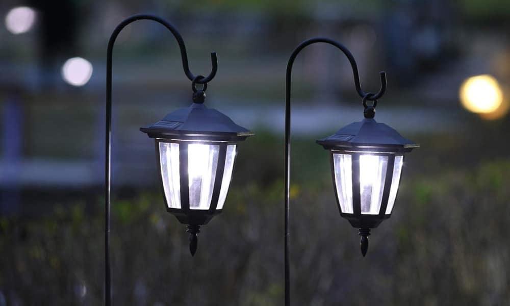 best hanging solar lights and lanterns
