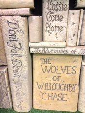 books up-close