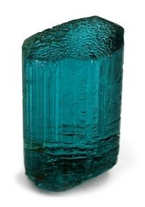 """Tourmaline bleue ou """"indigolite"""" (ou indicolite)"""