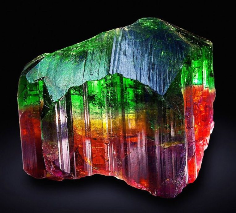 Tourmaline multicolore