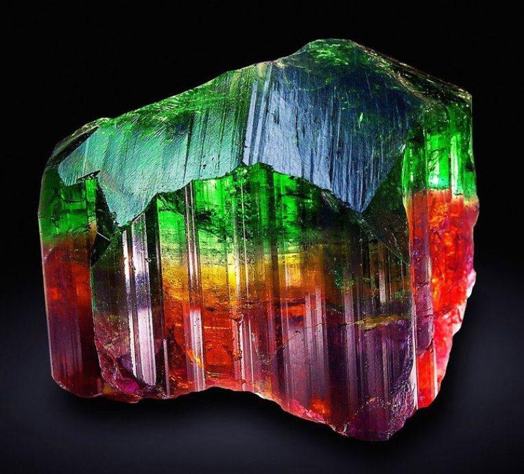 Tourmaline multicolore