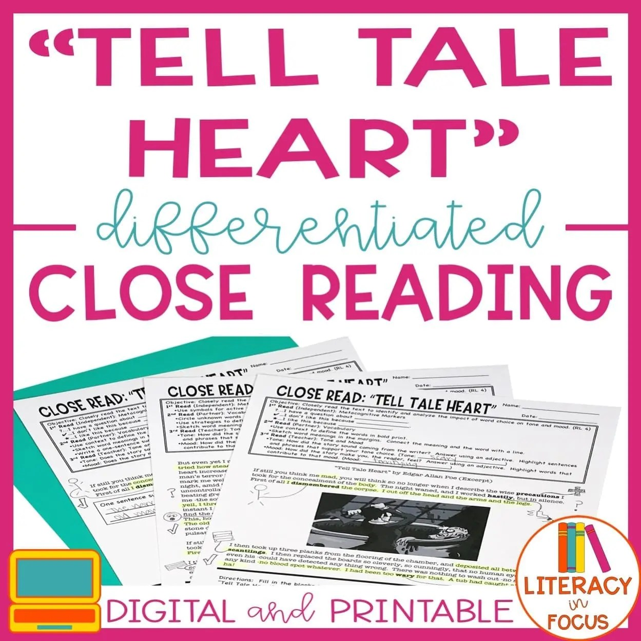 Create Your Own Differentiated Close Reading In Three Easy
