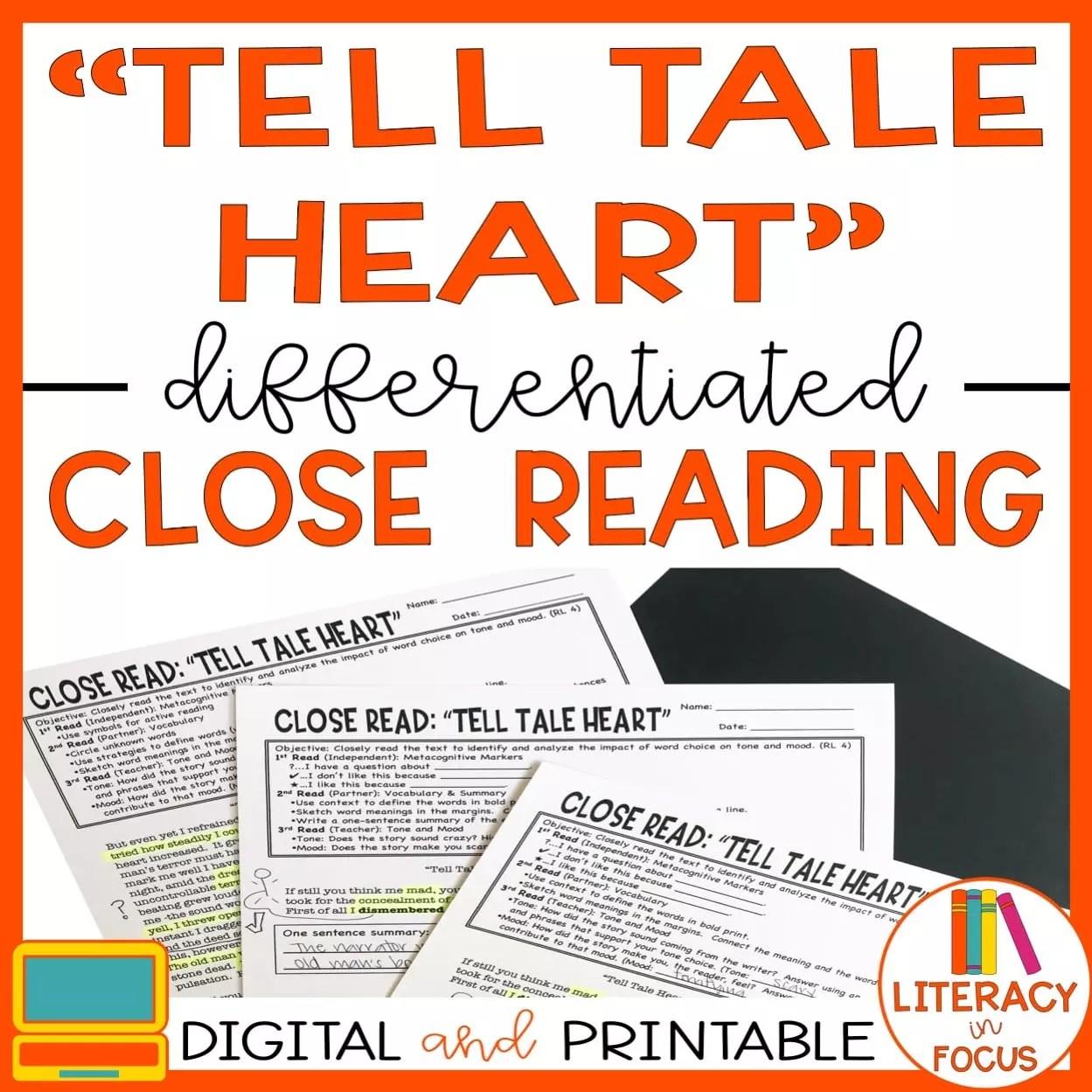 Tell Tale Heart Lesson