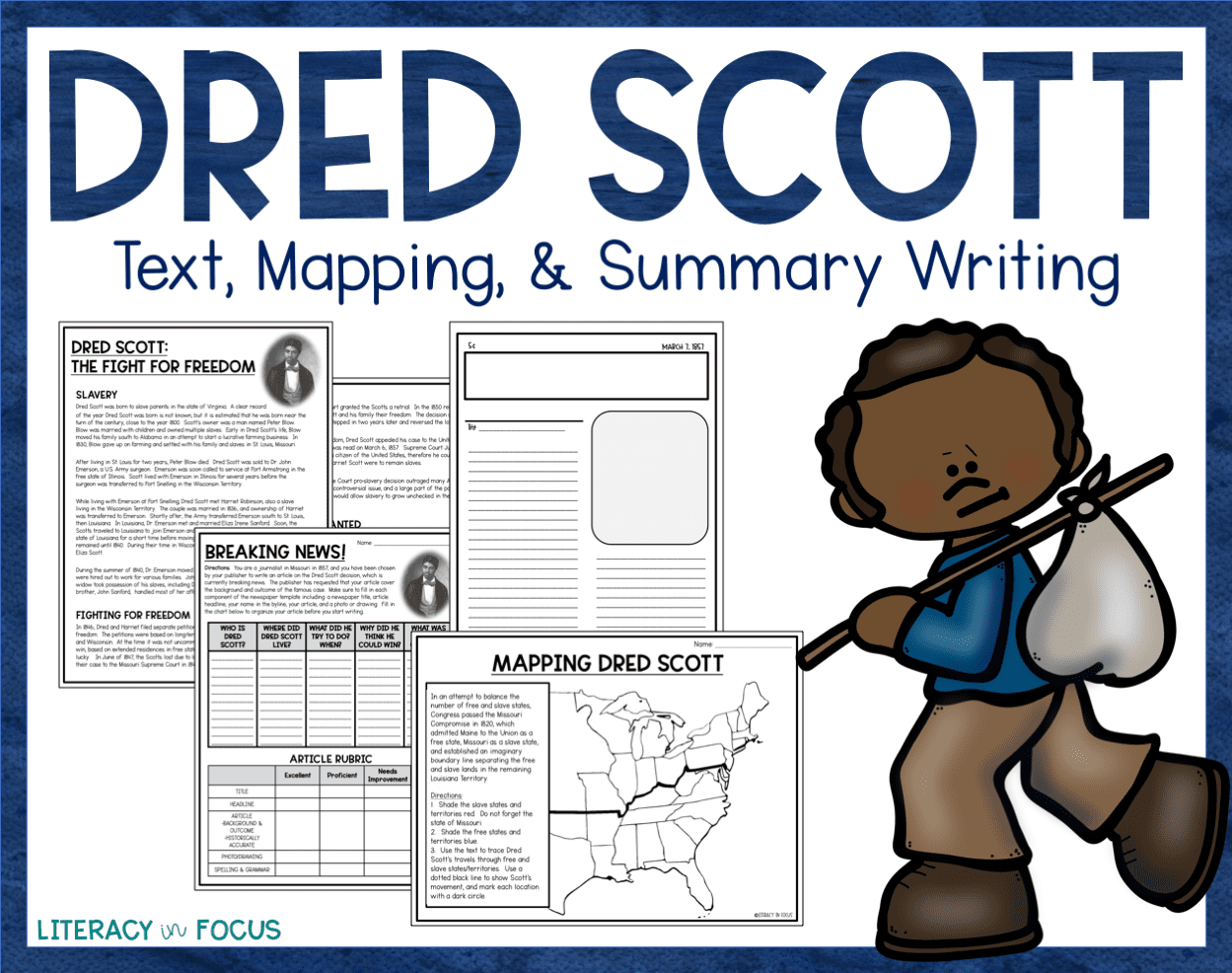 Dred Scott Lesson Text Mapping Amp Summarizing
