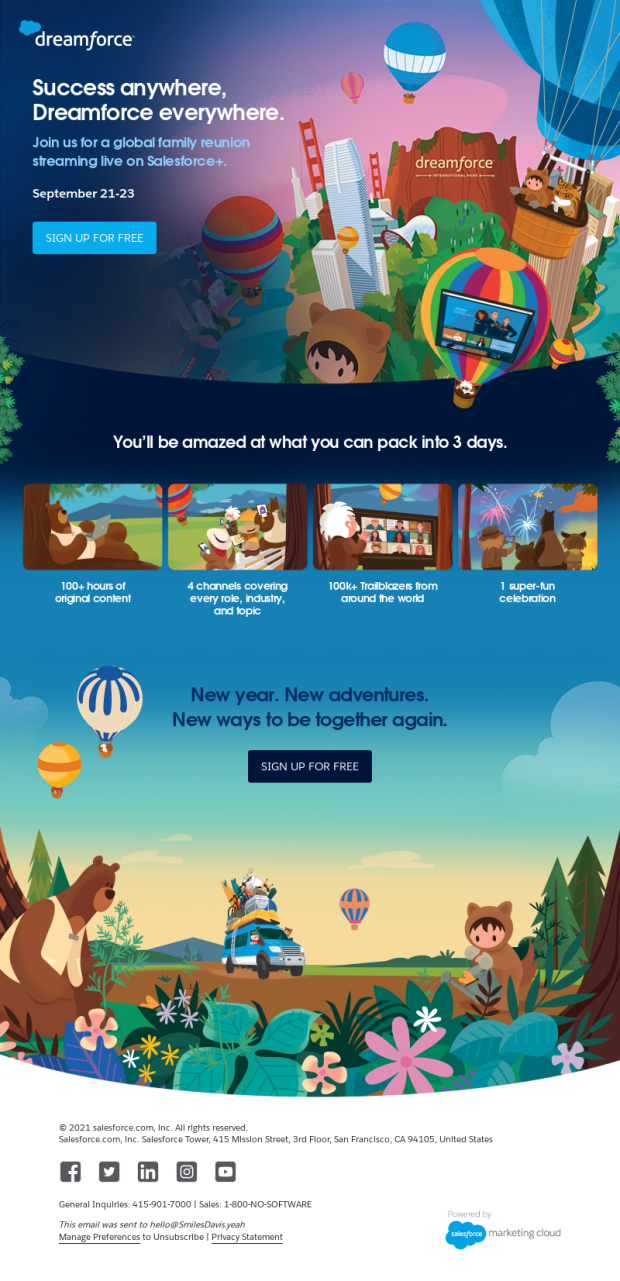 dreamforce email