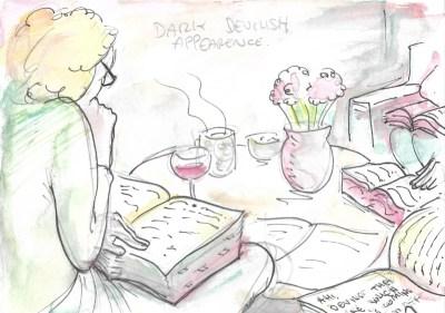 Jose Barba London Literary Salon Illustration 4
