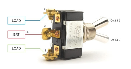 Dpdt 8 Pin Toggle Switch Wiring Diagram. Dpdt. Automotive Wiring ...