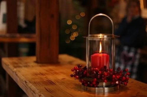 Vela roja encendida en un escudo de vidrio: ¿las velas son malas para perros y gatos?