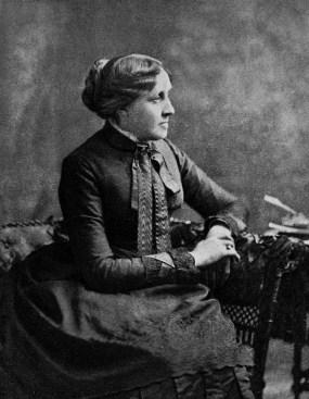 Louisa May Alcott - mujeres famosas de la historia que amaban a los gatos