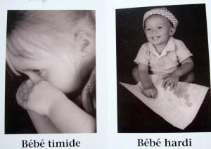 beaucoup de beaux bébés émotions