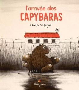 arrivée capybaras