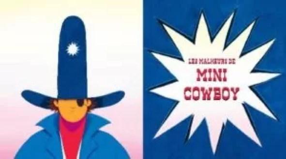 Mini cowboy, Daniel Frost, l'école des loisirs,