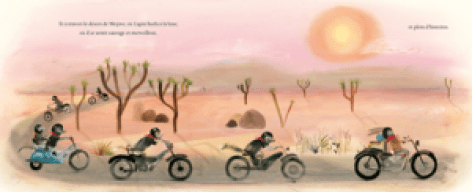 Le chien, le lapin et la moto, Kate Hoefler, Sarah Jacoby, éditions des éléphants