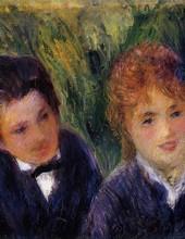 Auguste Renoir - Jeune homme et jeune femme