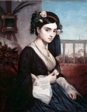 Charles Gleyre - Oriental Lady (1865)