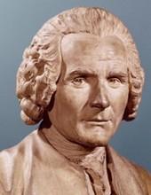 Jean-Jacques Rousseau - Buste par Jean-Antoine Houdon
