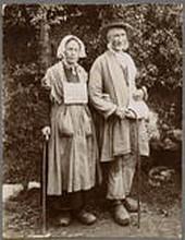 Vieux mendiants