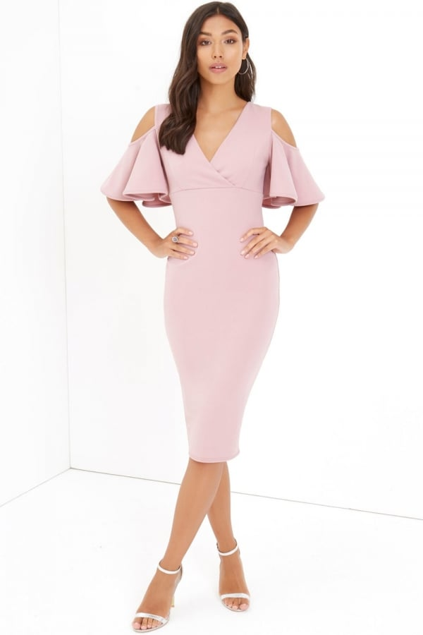Image result for LITTLE MISTRESS Girls on Film Bodycon Dress in Pink