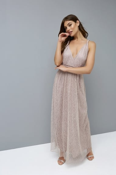 Mink Multiway Maxi Dress