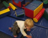 TODDLERS - Rough and tumble on the soft play