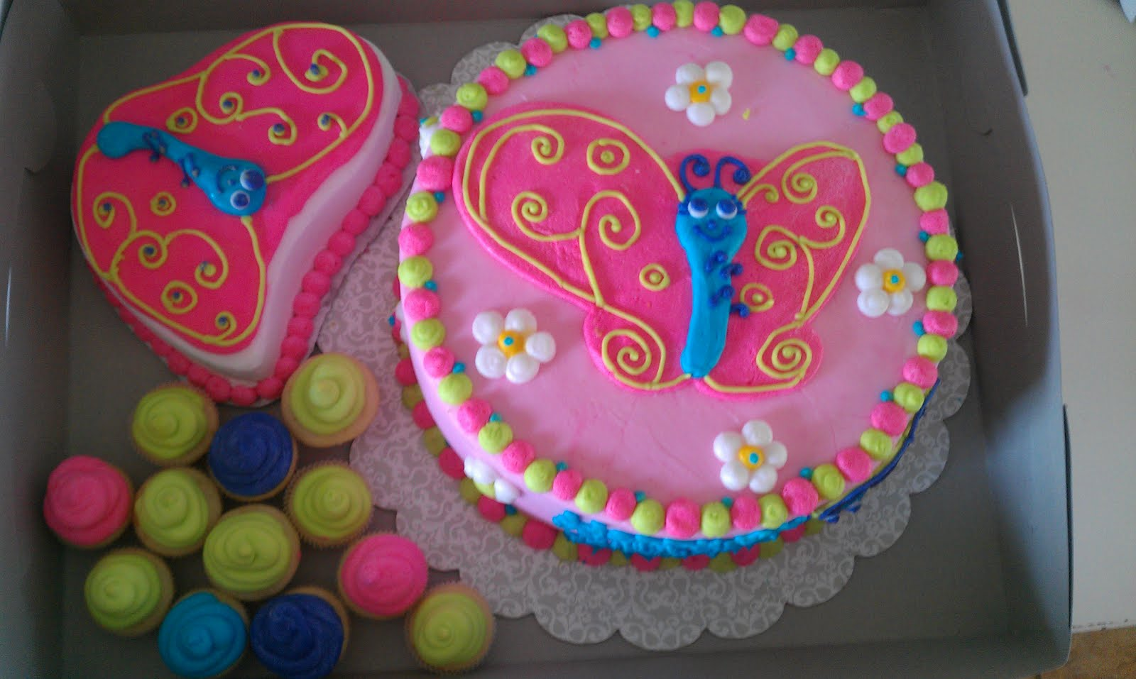 Butterfly Cakes     Decoration Ideas   Little Birthday Cakes Butterflies Cakes