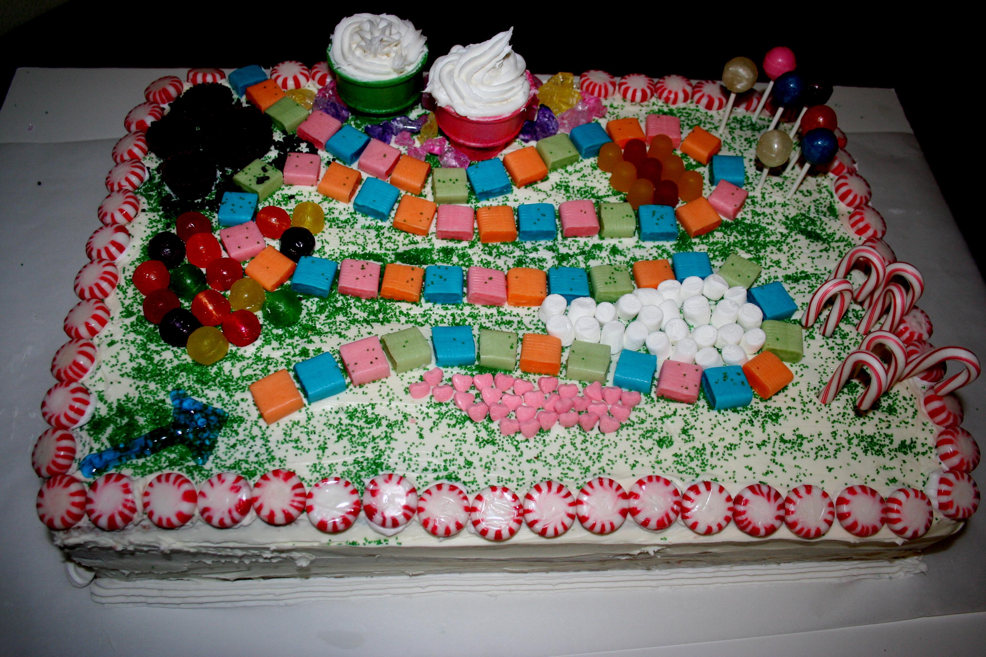 Candyland Cakes Decoration Ideas