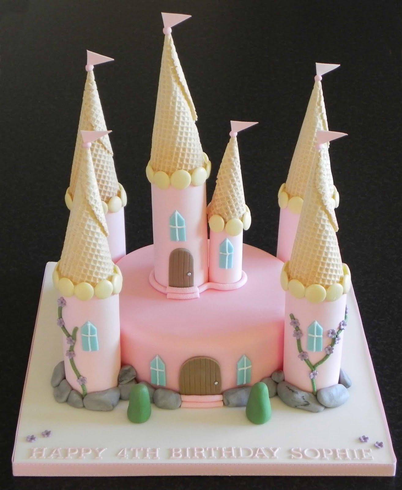 Princess Castle Cakes Ideas