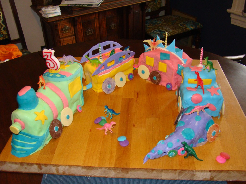 Dinosaur Cakes Decoration Ideas